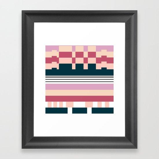 Raspberry Parfait Framed Art Print