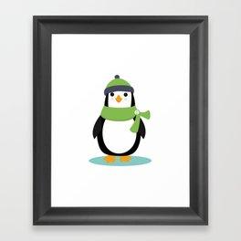AFE Penguin Framed Art Print