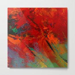 RED MOOD Metal Print