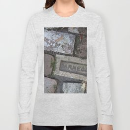 Antique brick garden path Long Sleeve T-shirt