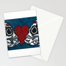 Amo y Besos (Love & Kisses) Stationery Cards