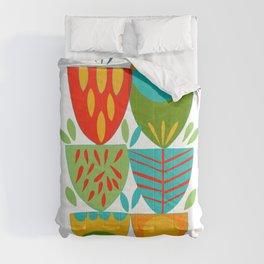 Scandianvian  Flowers Comforters