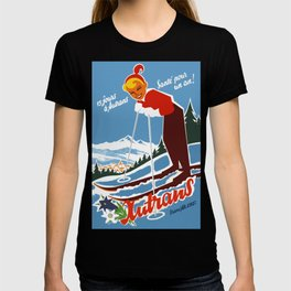 Vintage Autrans France Ski Travel T-shirt