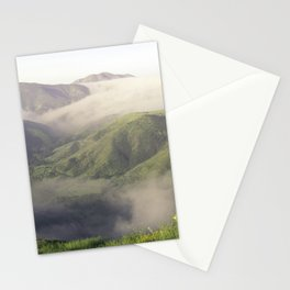 Foggy Mountain View Stationery Cards
