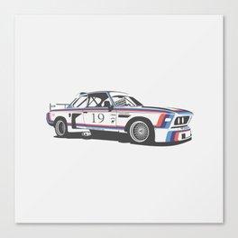 BMW CSL Turbo Canvas Print
