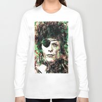 bowie Long Sleeve T-shirts featuring BOWIE by Vonis