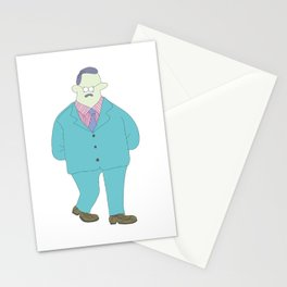 Old man is fun! Stationery Cards