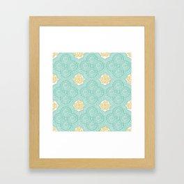 hjhg Framed Art Print