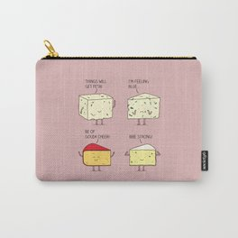cheesy puns Carry-All Pouch