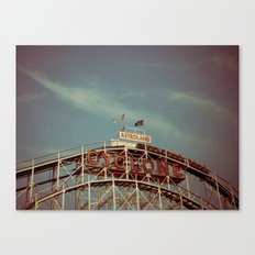 Coney Island Cyclone Canvas Print