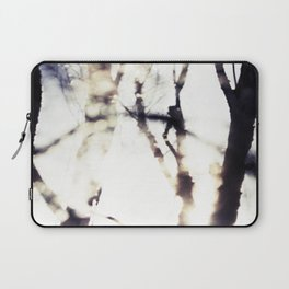 Blurry Trees Laptop Sleeve