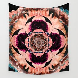 Eye of the Flower Wall Tapestry