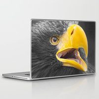 eagle Laptop & iPad Skins featuring Eagle by Veronika
