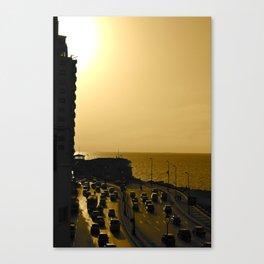 Corniche Canvas Print