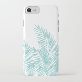 Palm Leaves Island Paradise iPhone Case