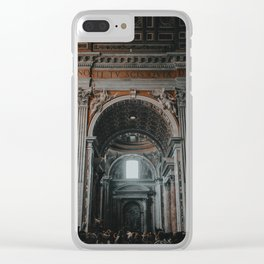 Surround Yourself Clear iPhone Case
