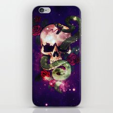 Space Skull iPhone & iPod Skin