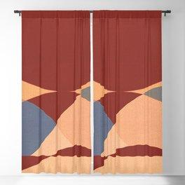 Sinuous Curves 1 Blackout Curtain