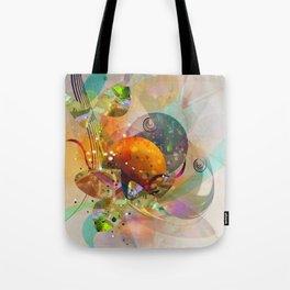 frutti astratti Tote Bag