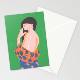 Feminine Instinct - Woman Beauty 1 Stationery Cards