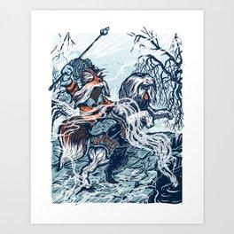 Sir Didymus Art Print