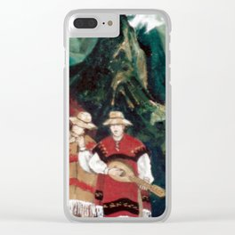The ANDES             by Kay Lipton Clear iPhone Case