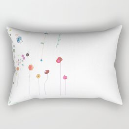 Floral Fall Rectangular Pillow