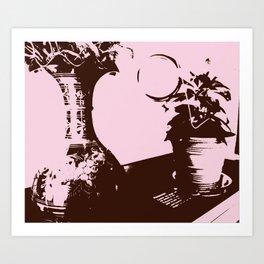 pink decor Art Print