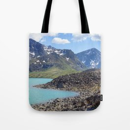 Alaska Glacial Lake Tote Bag