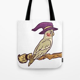 witch bird Tote Bag