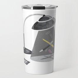 Desktop Abduction Travel Mug