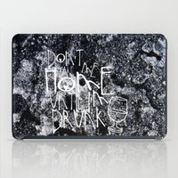 drunk iPad Cases featuring Drunk by Jude's