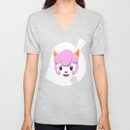 Animal Crossing Reese Unisex V-Neck