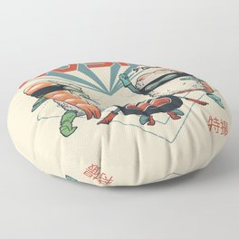 Sushi Squad Floor Pillow