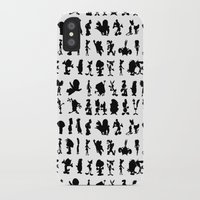 cartoons iPhone & iPod Cases featuring Cartoons by Valerie Agrusa Photography