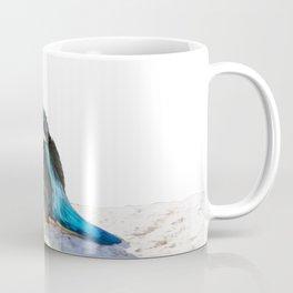 A Beautiful Kingfisher Bird Vector Coffee Mug