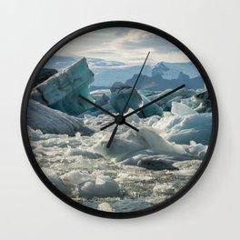 Jokulsarlon 2 Wall Clock