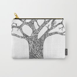 Tree Doodle Carry-All Pouch