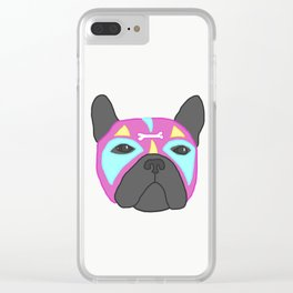 Poochador Clear iPhone Case