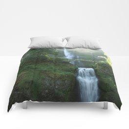 Multnomah Falls Comforters