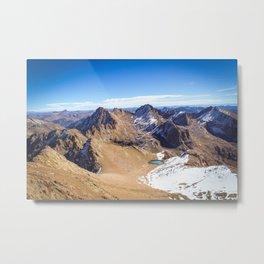 Wetterhorn Peak Metal Print