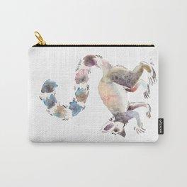Splotchy Lemur Carry-All Pouch