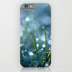 Fairy Drops Aqua Blue iPhone 6s Slim Case