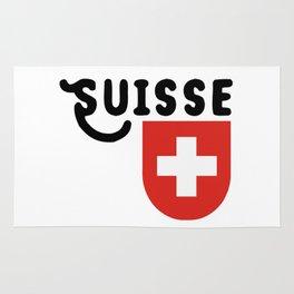 Confédération suisse Rug