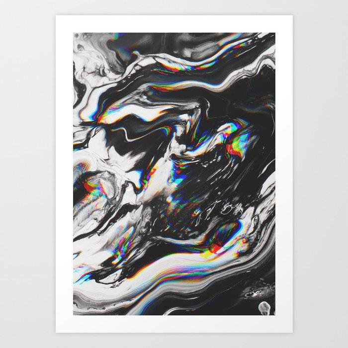 STOP MAKING THE EYES AT ME Art Print