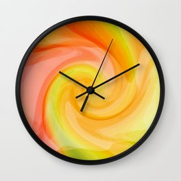 Birth of a Fresh New Day Wall Clock