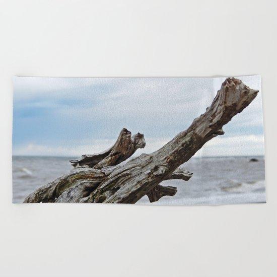Natural Driftwood Beach Towel