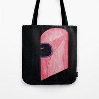 magneto Tote Bags featuring Magneto by Sebastian DeTemple
