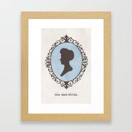 Rosalind Lutece Framed Art Print