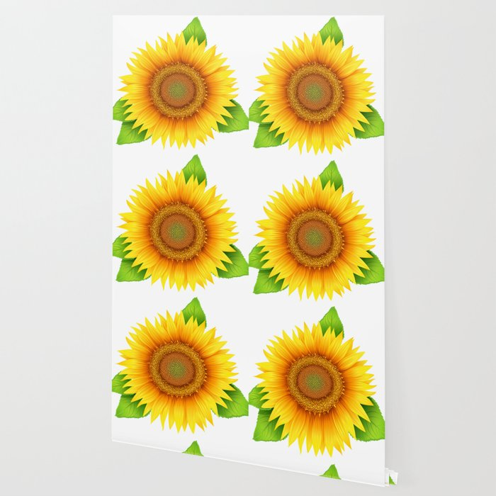 Sunflower Wallpaper by edward124 | Society6